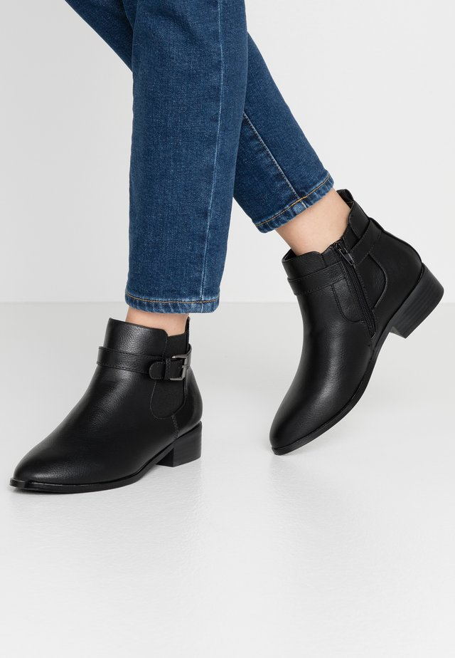 WIDE FIT ASTRAP CHELSEA - Classic ankle boots - black