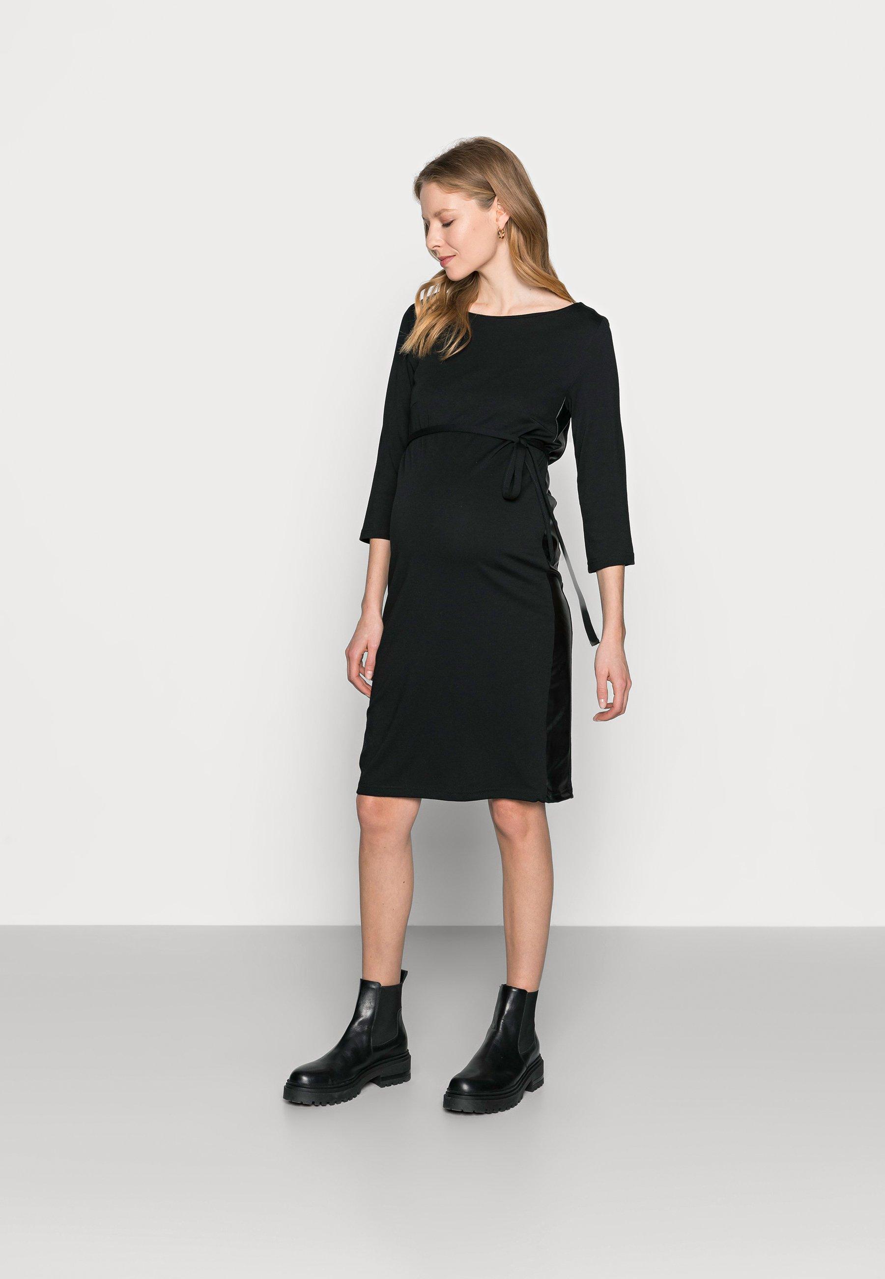 Women MLTINE BLACKIE  - Jersey dress