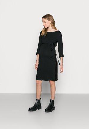 MLTINE BLACKIE  - Jersey dress - black