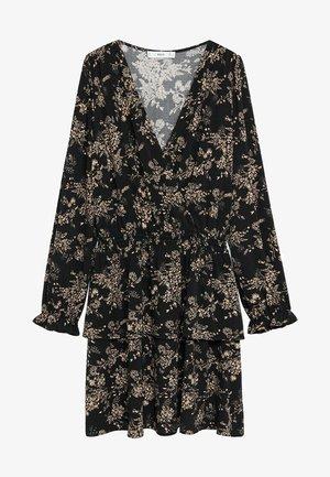 MOSS8 - Day dress - mottled black