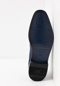 Bugatti - MANSUETO - Smart lace-ups - dark blue - 4