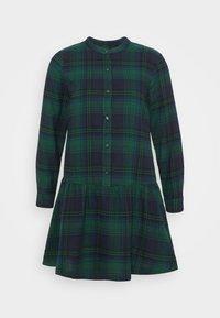Shirt dress - blackwatch