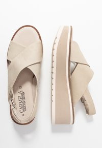 Carmela - Platform sandals - ice - 3