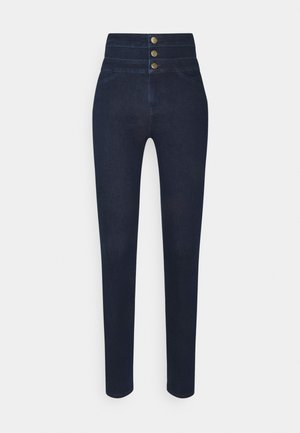 ANNALIE HIGH RISE - Jeans Skinny Fit - dark blue
