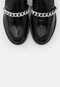 YAS - OXFORD SHOES - Slippers - black - 5