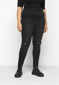 New Look Curves - LIFT AND SHAPE - Jeans Skinny Fit - black - 0