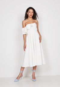 True Violet - FRILL FIT  - Day dress - off-white - 1