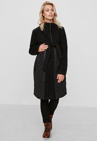 MAMALICIOUS - Classic coat - black - 0