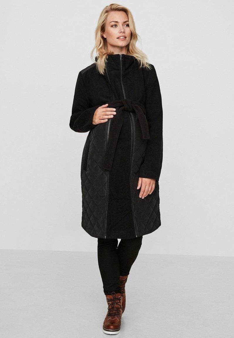 MAMALICIOUS - Classic coat - black