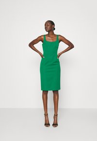 Banana Republic - NECK SHEATH SOLID - Denní šaty - luscious green - 1
