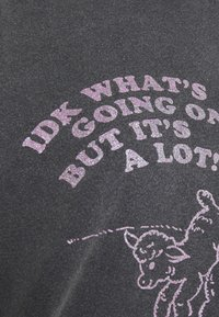 NEW girl ORDER - LITTLE LAMB TEE - T-shirts med print - charcoal - 2