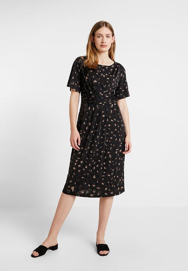 CREZIA - Sukienka z dżerseju - black