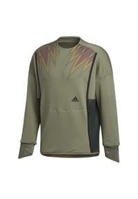 adidas Performance - PRIME COLD.RDY TOP CREW SWEATSHIRT - Sudadera - green - 9