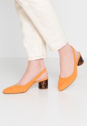 Klasické lodičky - orange