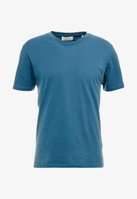 THE ORGANIC TEE BASIC - T-shirt - bas - petroleum blue