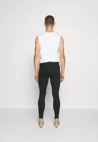 11 DEGREES - SLASHED KNEE  - Jeans Skinny Fit - black - 2