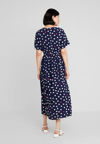 TOM TAILOR DENIM - DOT MIX WRAP DRESS - Vardagsklänning - blue/white - 3