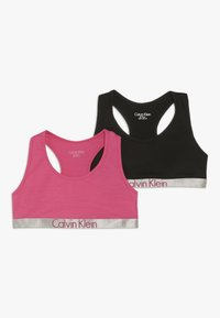 Calvin Klein Underwear - BRALETTE 2 PACK - Korzet - pink - 0