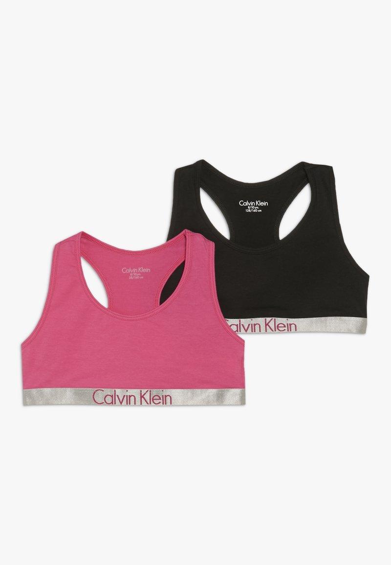 Calvin Klein Underwear - BRALETTE 2 PACK - Korzet - pink