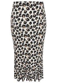 Yoek - Pencil skirt - brown - 1