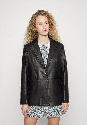 VADIMO - Leather jacket - noir