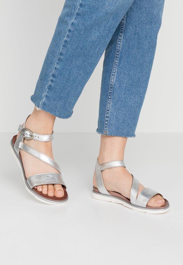 Sandály - argento