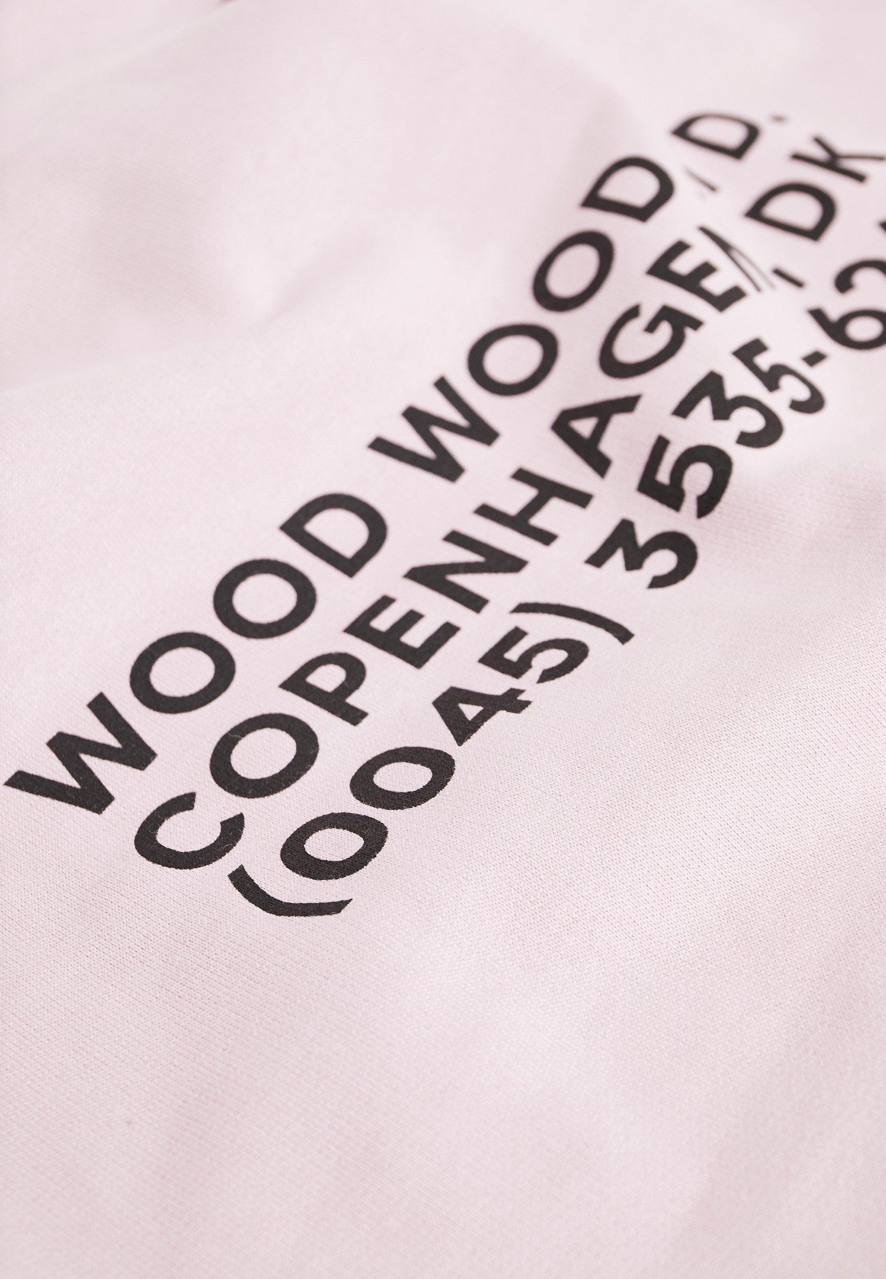 Wood Wood FRED HOODIE - Sweat à capuche - lilac