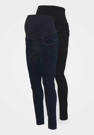 OVER BUMP ELLIS SKINNY 2 PACK - Jeans Skinny Fit - black/indigo