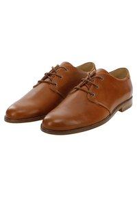 M. Moustache - ALPHONSE - Zapatos de vestir - cognac color - 1