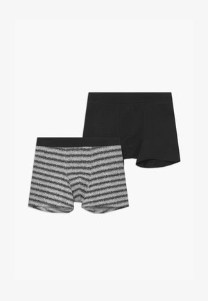 TEENS 2 PACK - Boxerky - black/grey