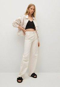 Mango - Summer jacket - ecru - 1
