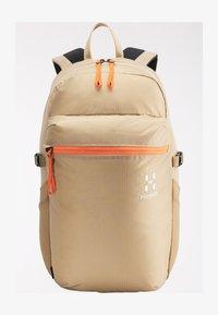 Haglöfs - Hiking rucksack - sand/flame orange - 1