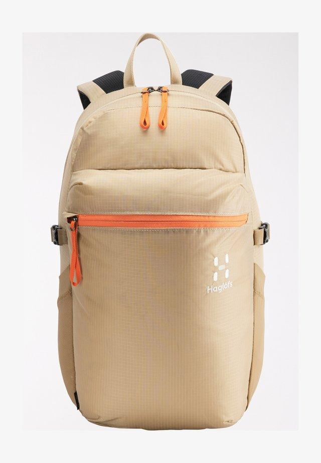 Hiking rucksack - sand/flame orange