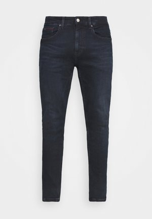 AUSTIN SLIM TAPERED - Jeans Tapered Fit - midnight extra dark blue