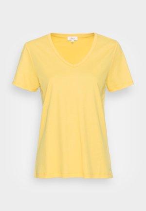Basic T-shirt - sunset yellow