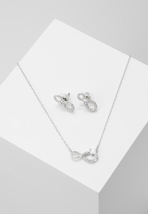 INFINITY SET - Øreringe - silver-coloured