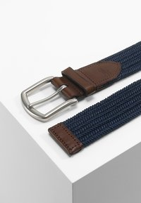 Polo Ralph Lauren - BRAIDED FABRIC STRETCH - Ceinture - navy - 2