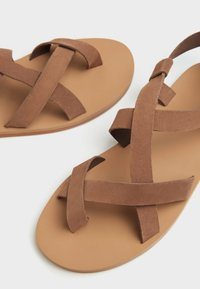 Bershka - Sandales - brown - 4