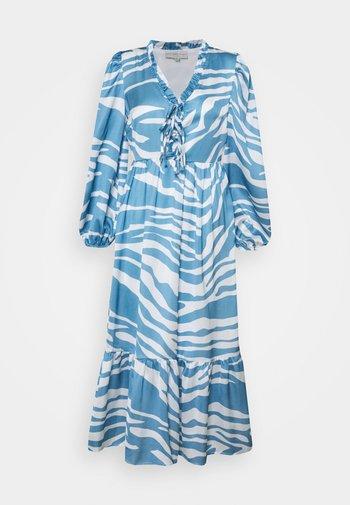 ZEBRA MIDAXI - Maxi dress - blue