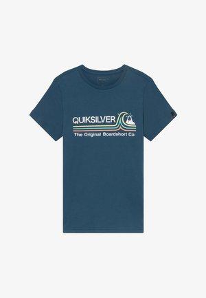 STONE COLD - Print T-shirt - majolica blue