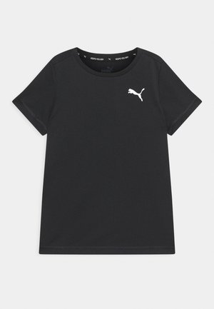 ACTIVE SMALL LOGO UNISEX - T-shirt imprimé - black