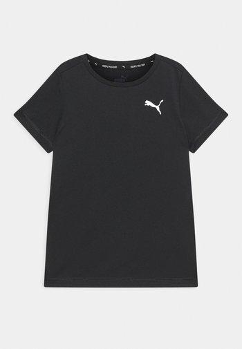 ACTIVE SMALL LOGO UNISEX - Print T-shirt - black