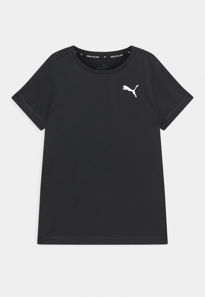 Puma - ACTIVE SMALL LOGO UNISEX - Print T-shirt - black
