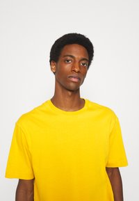 Selected Homme - SLHLOOSEGILMAN O NECK TEE - Basic T-shirt - mango mojito - 3