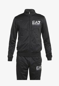 EA7 Emporio Armani - TRACKSUIT - Tracksuit - black - 7