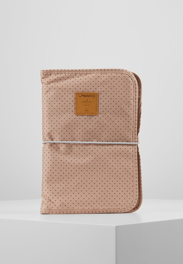 CHANGING POUCH - Tasker - dots rose