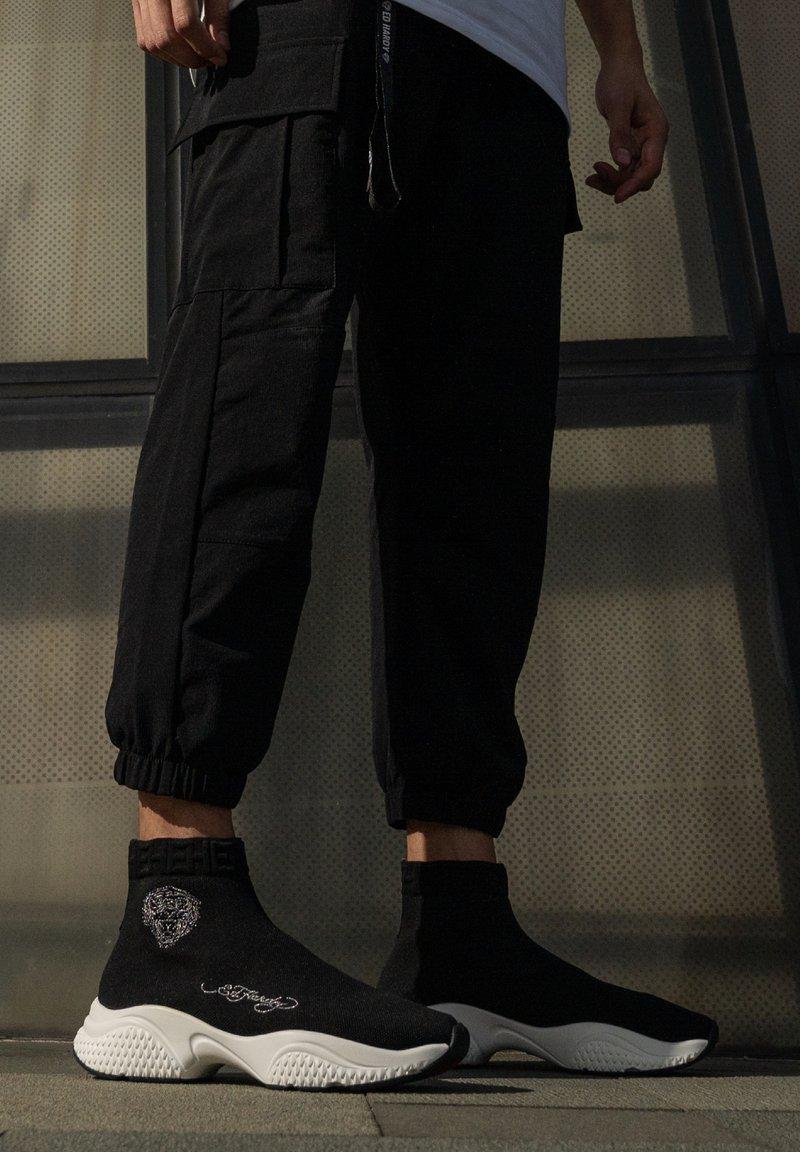 Ed Hardy - SOCKED - Baskets montantes - black