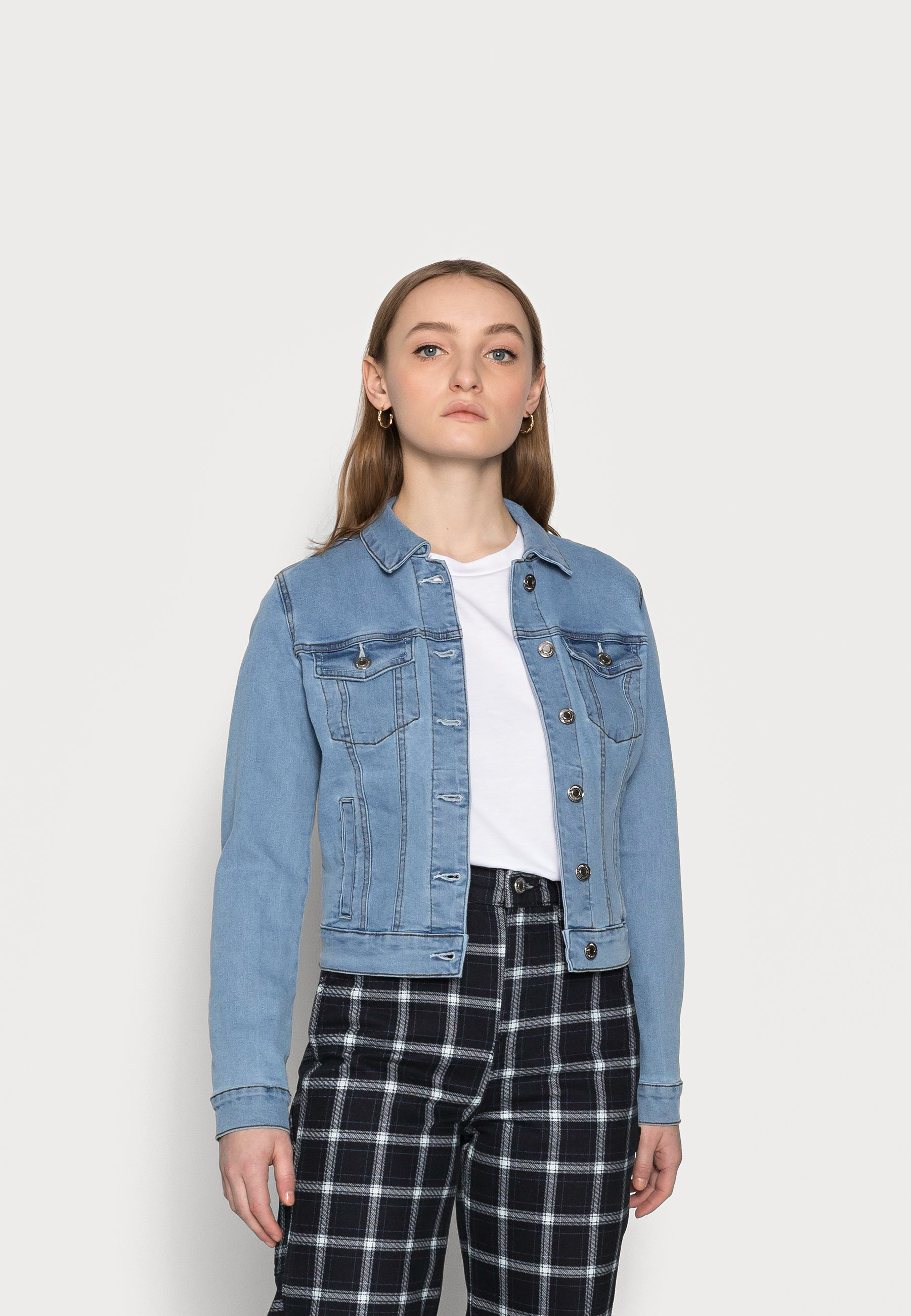 Women VMHOT SOYA JACKET - Denim jacket