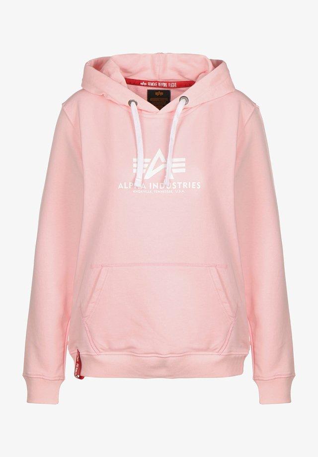 NEW BASIC  - Bluza z kapturem - pastel pink