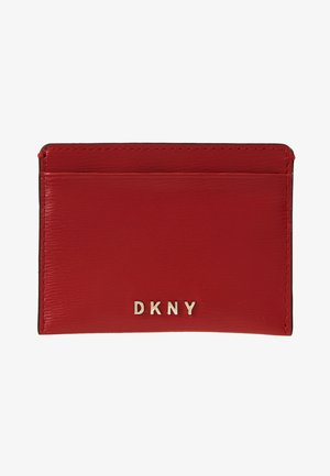 PERLA ENVELOPE FLAP - Wallet - bright red